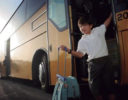 reportaje cinturos de seguridad en los utobuses escolares-lucia rivas 20070920